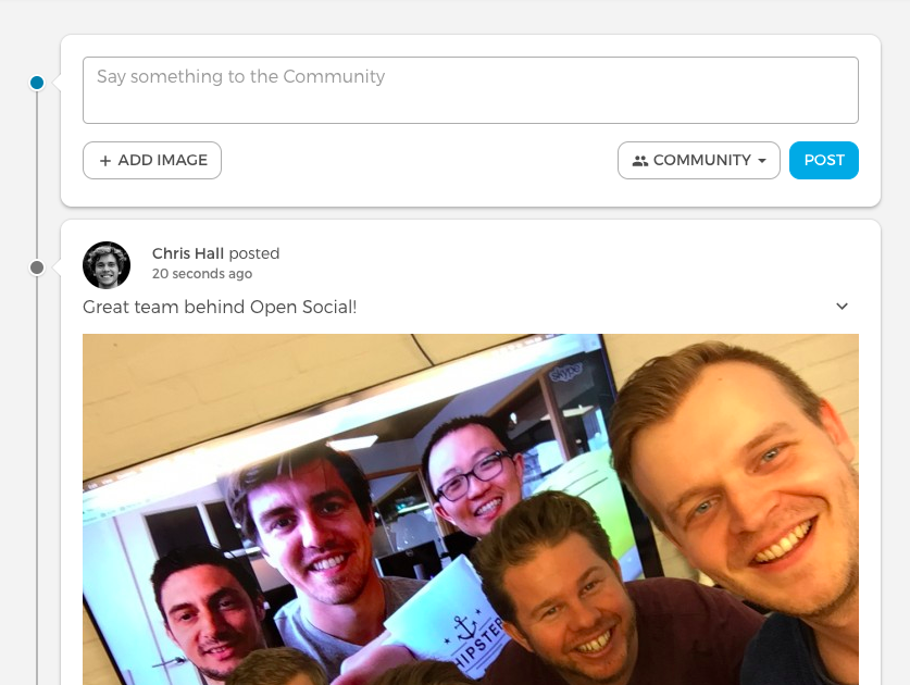 open social team picture